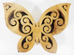 Wood Sculpture - Butterfly
