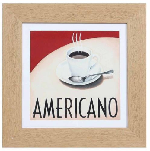 Set Of 3 Coffee Cup Canvas Wraps: Americano Coffee Cups Set Of 2 Prints