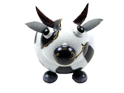 Garden Metal Cow Planter