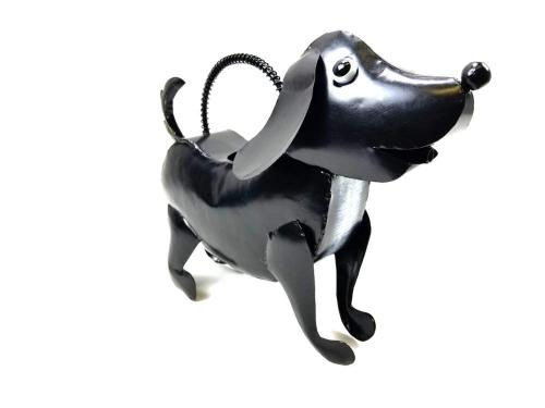 Garden Metal Dog Watering Can