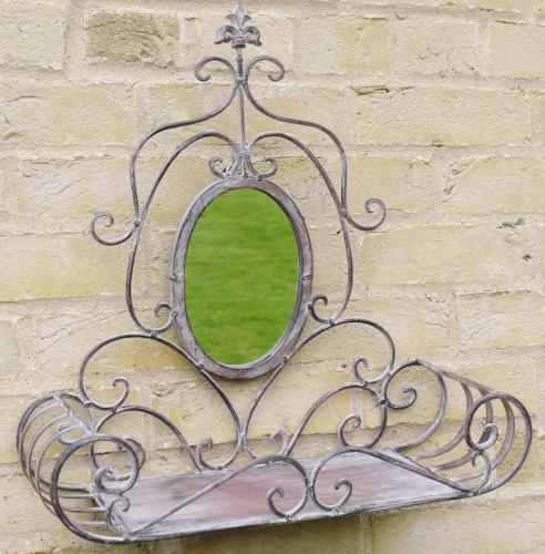 Garden Mirror Wall Planter