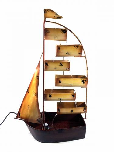 Home Or Garden Water Feature - Large Sail Boat