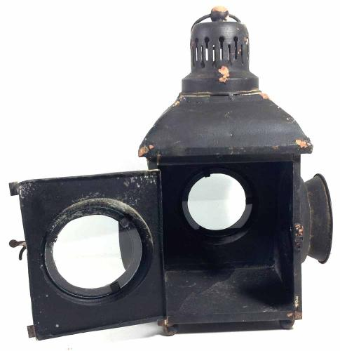 Vintage Style Railway Train Candle Lamp