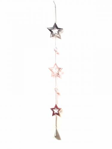 Long Decorative Hanging Chain - Star