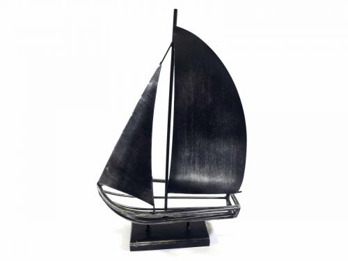 Metal Sailing Boat Ornament