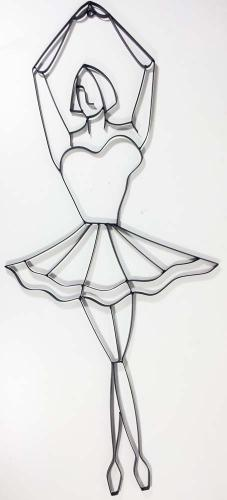 Metal Wall Art - Ballet Dancer Pirouette