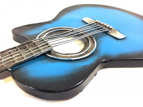 Metal Wall Art - Blues Guitar