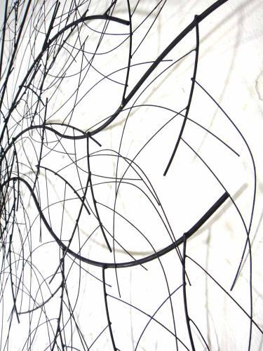 Metal Wall Art   Large Oak Tree