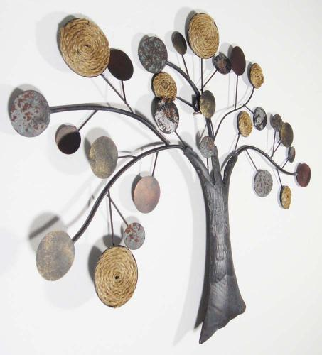 art contemporary metal wall art metal wall art rope oak tree