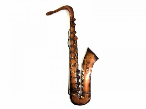 Metal Wall Art - Saxophone
