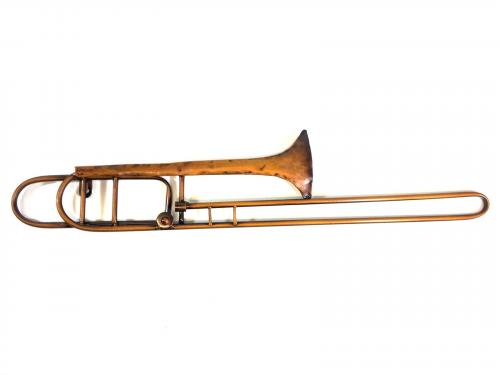 Metal Wall Art - Trombone