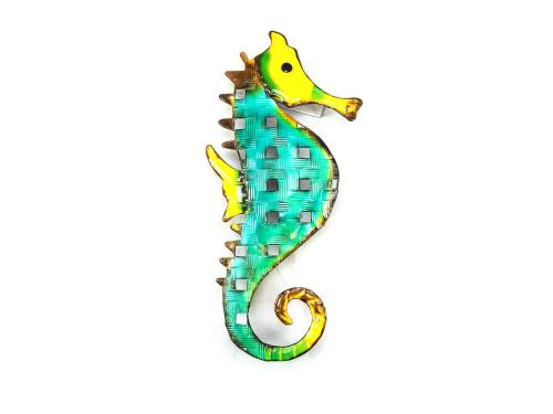 Metal Wall Art - Tropical Seahorse
