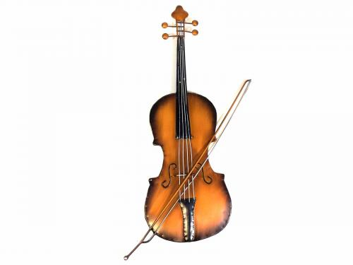Metal Wall Art - Violin