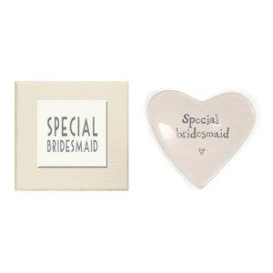 Porcelain Heart Dish - East Of India Special Bridesmaid