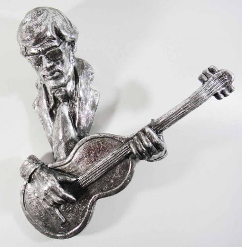 Resin Wall Art - Guitar Player Musician
