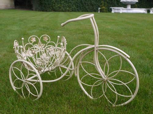 Shabby Chic Trike Flower Planter
