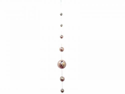 Stainless Steel 7 Ball Hanging Gazing Chain