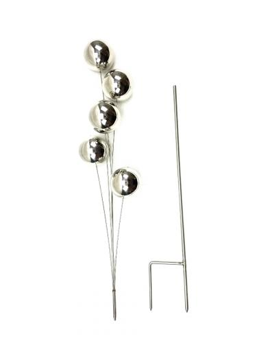 Stainless Steel Gazing Ball Spray Garden Stake