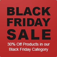 30% OFF PRODUCTS in our Black Friday Category