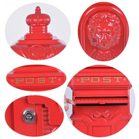 Vintage Grand Pillar Post Boxes enhance Garden and Home Improvements