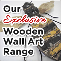 Our EXCLUSIVE Wooden Wall Art Range