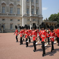 Large Wall Art at Buckingham Palace for Summer Opening