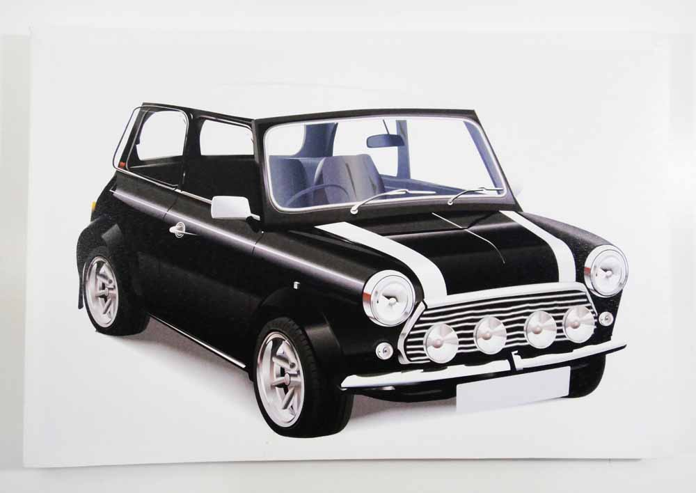 Canvas LED Wall Art - Classic Mini