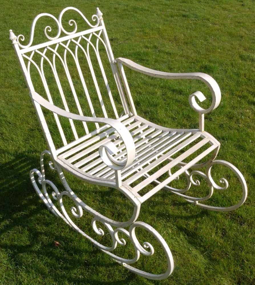 garden rocking chair. Black Bedroom Furniture Sets. Home Design Ideas