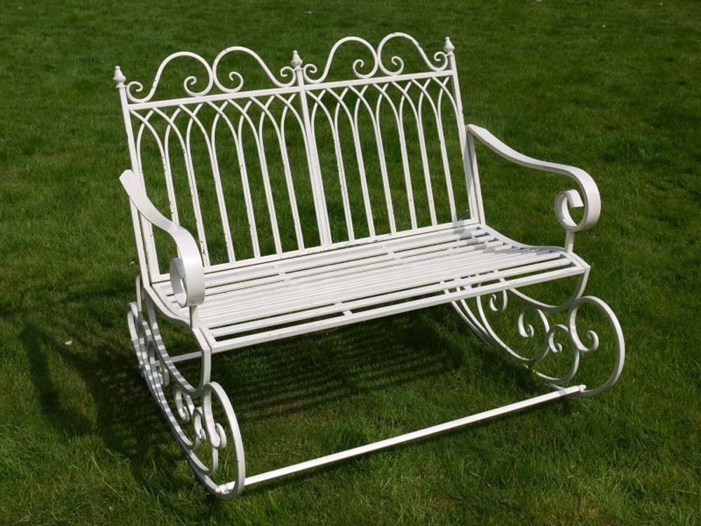 Garden rocking chair bench - Rocking chair jardin ...