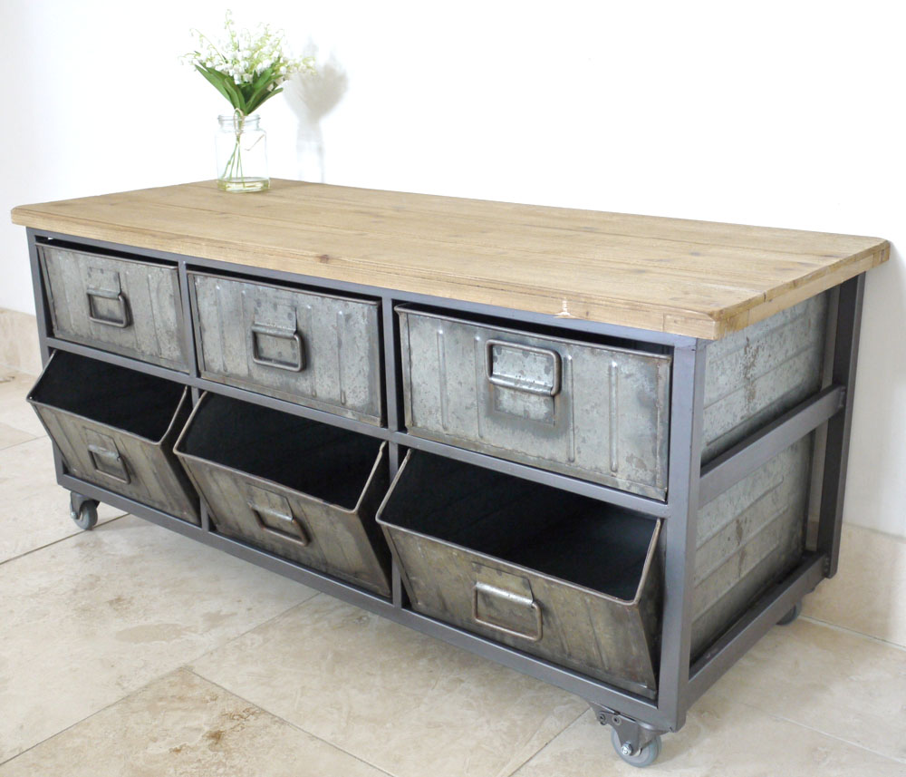 Industrial Coffee Table Or Side Unit