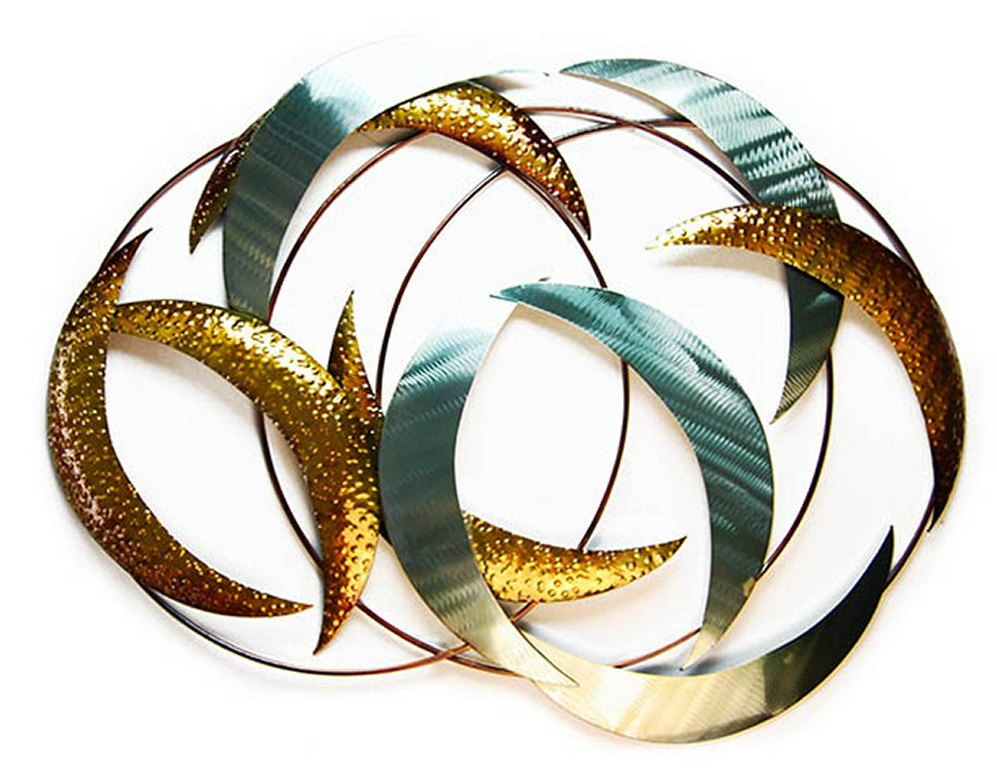 Metal Wall Art - Abstract Crescents