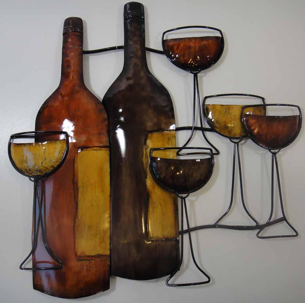 Wine bottle metal wall art images wine bottle metal wall art wine bottle art wall clock wine bottle art wall clock source abuse report amipublicfo Gallery
