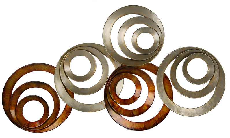Abstract circle wall art pictures to pin on pinterest for Circle wall art