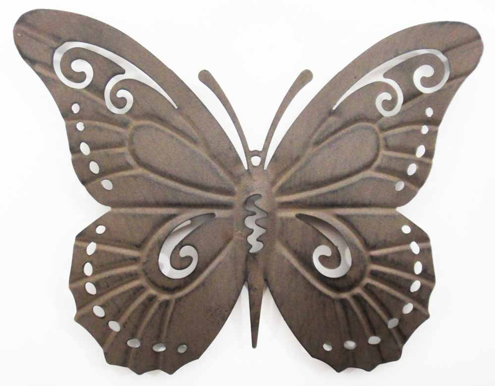 Metal Butterfly Wall Decoration : Outdoor metal wall art uk contemporary