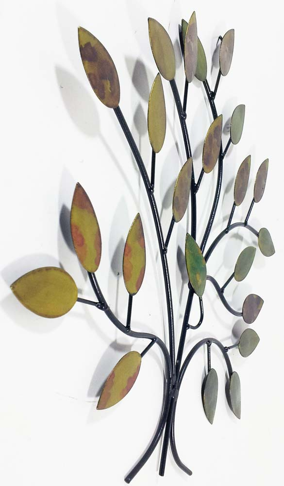 Tree Branch Wall Decor Metal : Metal wall art calm spring tree branch
