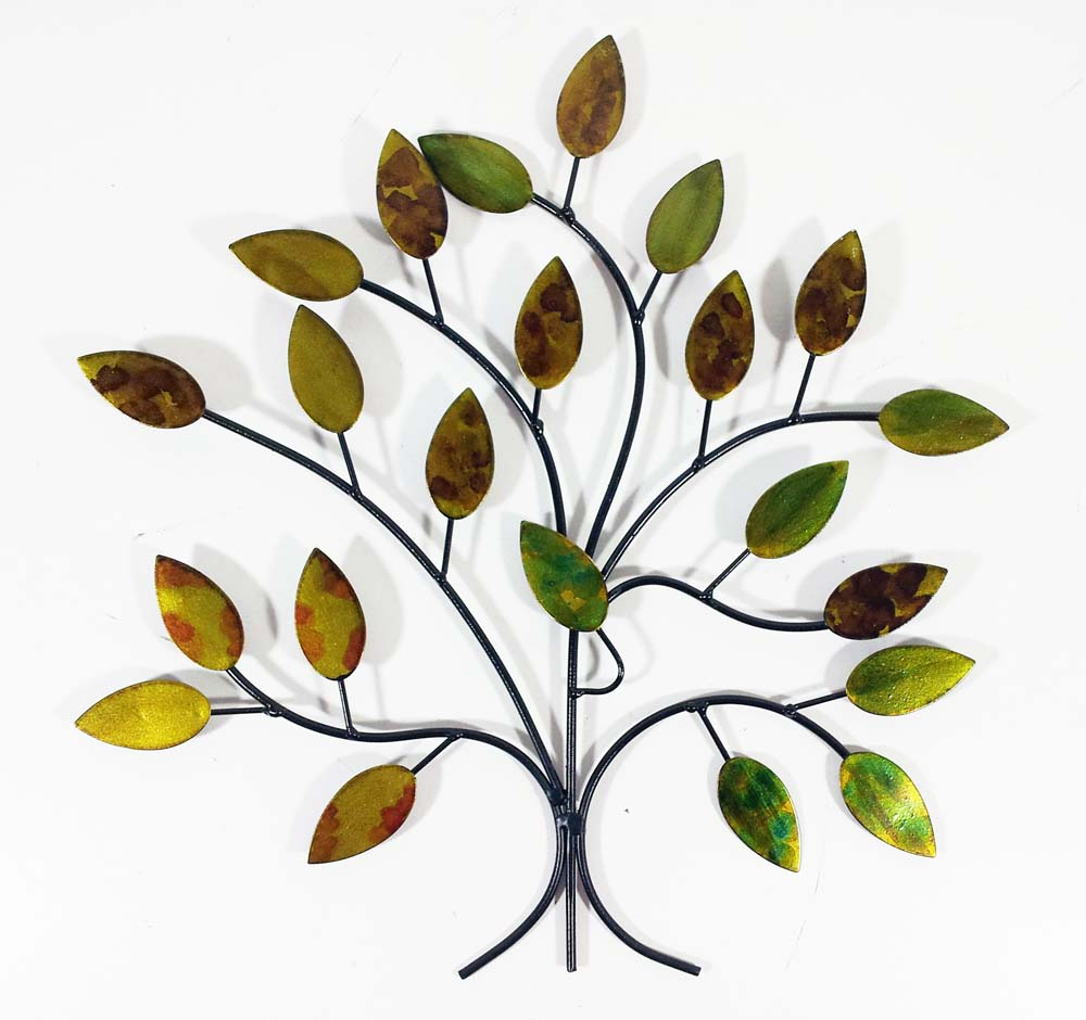 Metal Wall Art   Calm Spring Tree Branch