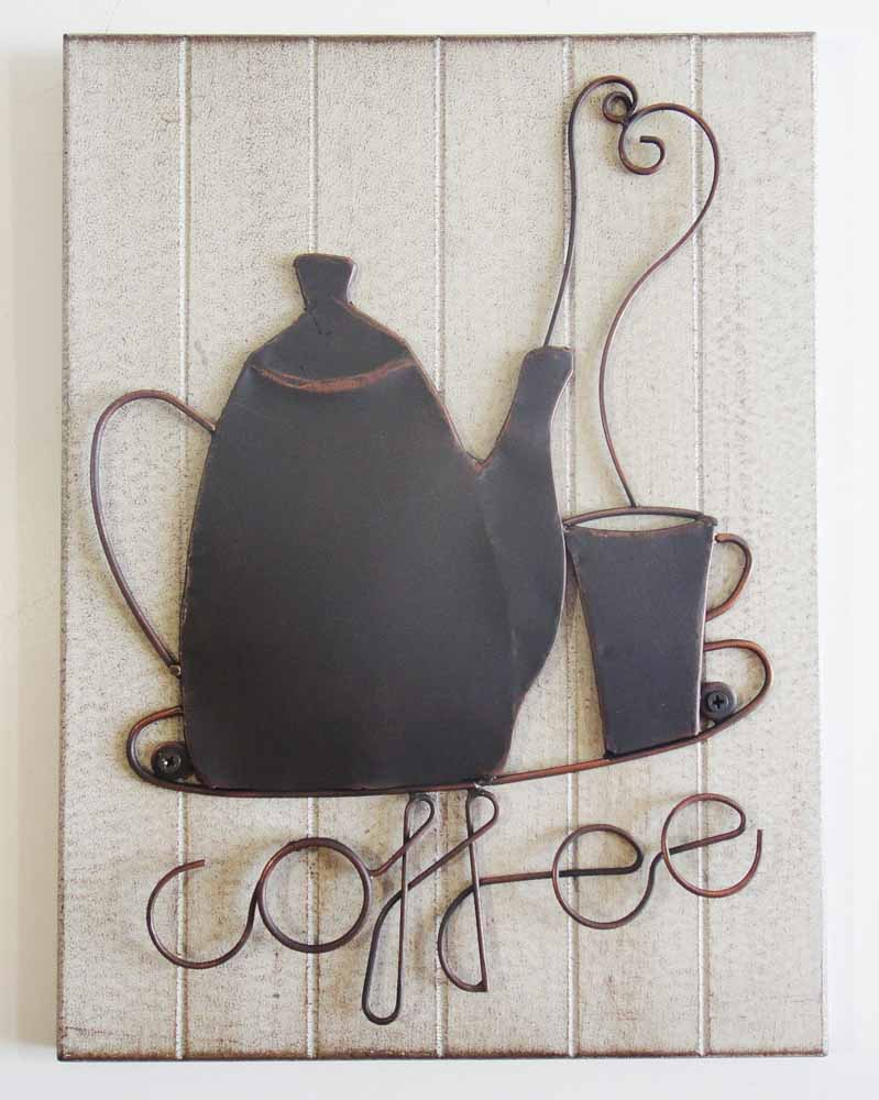 Metal Wall Art - Coffee Pot