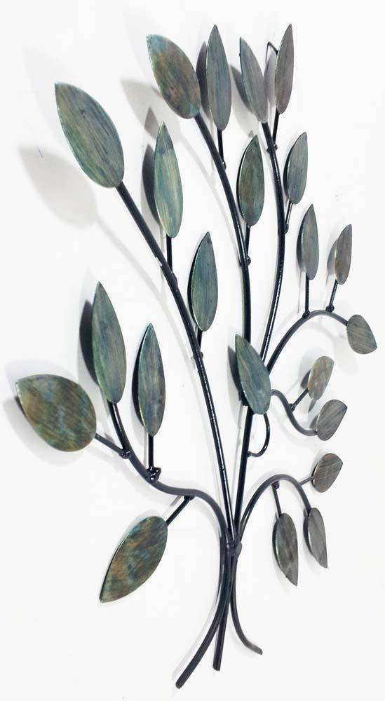 Tree Branch Wall Decor Metal : Metal wall art cool winter tree branch