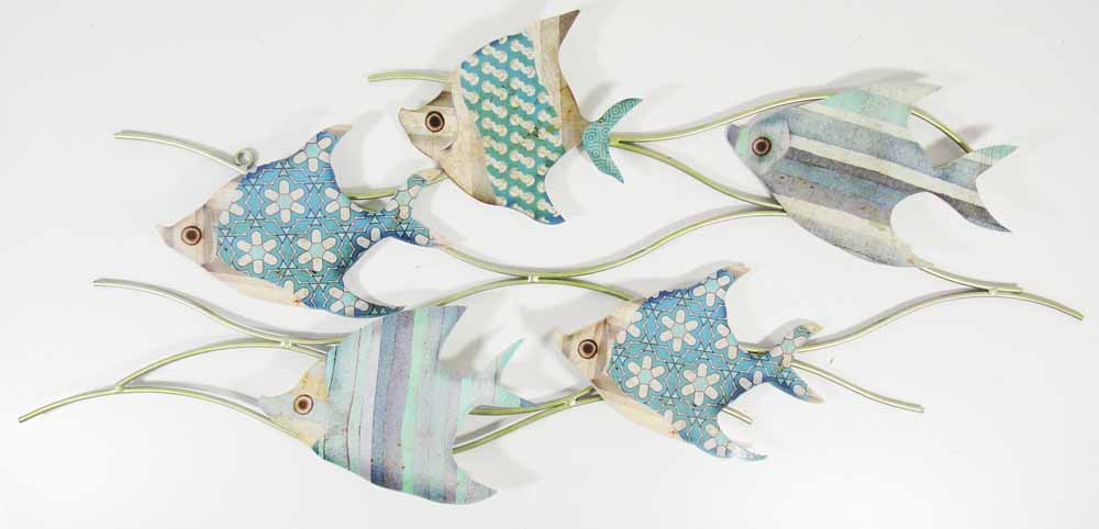 Wall Decor With Fish : Fish wall art uk metal zeppy with