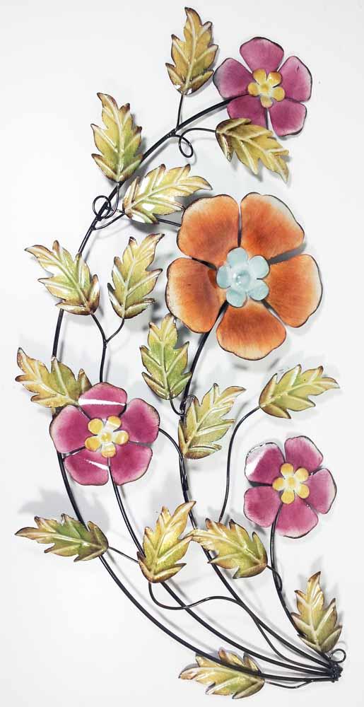 Floral Metal Wall Art flower & plant metal wall art | metal wall art | contemporary art