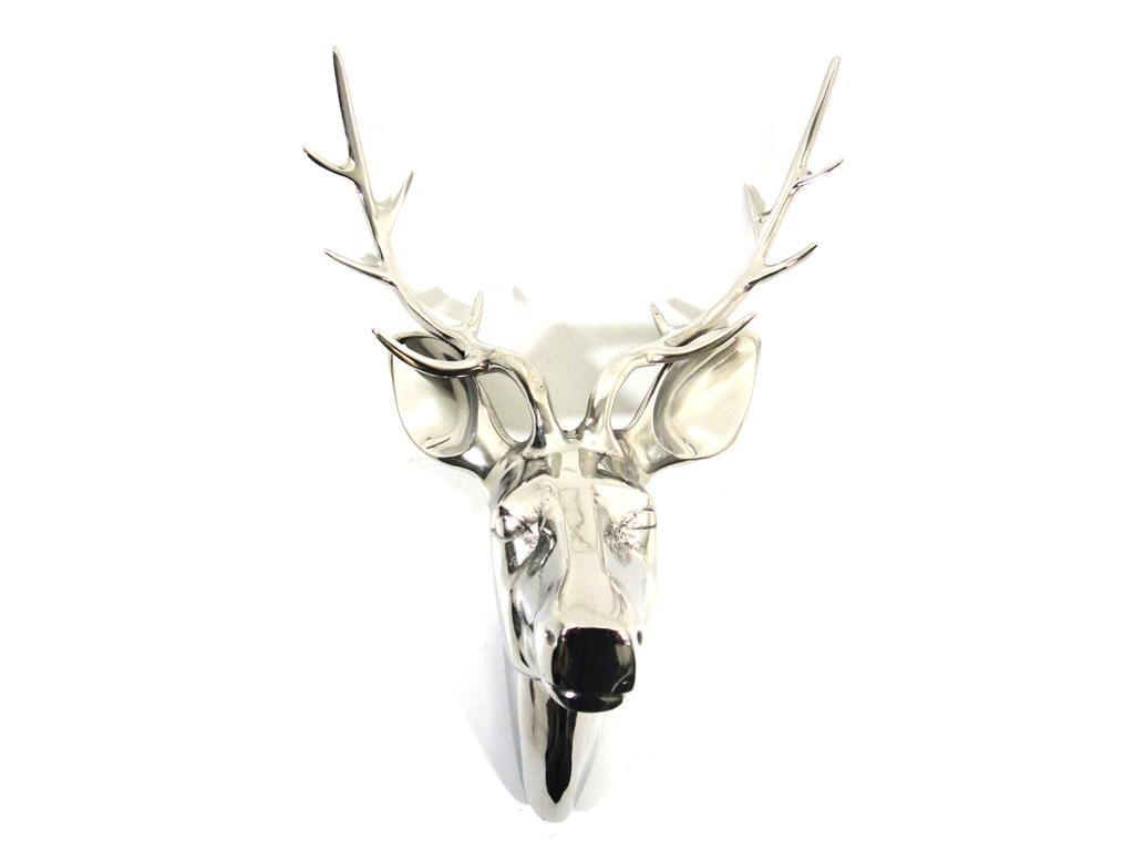 Metal Wall Art - Large Deer Stag Head