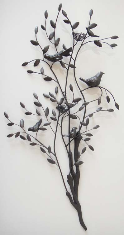 Tree Branch Wall Decor Metal : New contemporary metal wall art decor large nesting