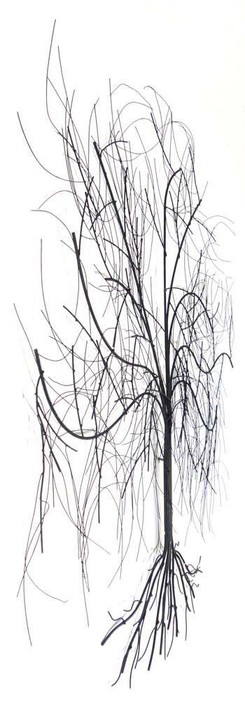 metal wall art large oak tree