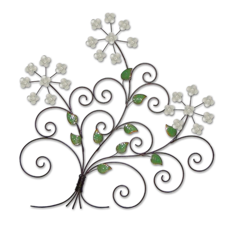 Metal Flower Wall Art flower & plant metal wall art | metal wall art | contemporary art