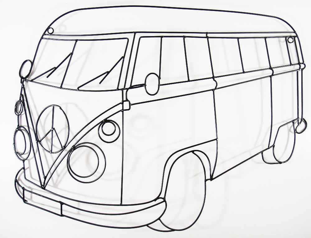 vw van coloring pages coloring pages