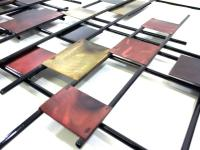 Metal Wall Art - Large Underground Abstract