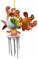 Metal Wind Chime - Tropical fish