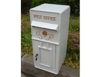Replica Wall Mounted Royal Mail GR Post Box Or Letter Box - White