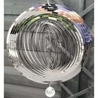 Stainless Steel Wind Spinner - Motorcycle Rider Design
