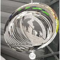 Stainless Steel Wind Spinner - Remember Them Design